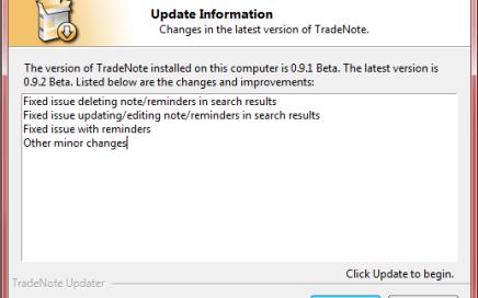 TradeNote Updater